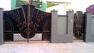 Кованые ворота заборы(, 2014-09-30T06:22:45.000Z)