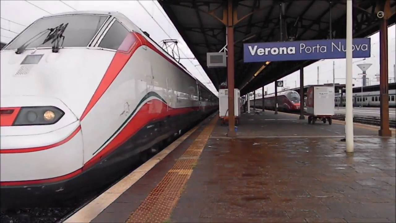 Treni treni nelle stazioni di verona ep 2 stazione in - Partenze treni verona porta nuova ...