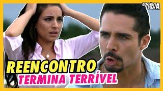 REENCONTRO de Gustavo e Ana Paula TERMINA TERRÍVEL em 'A Que Não Podia Amar' | por ES