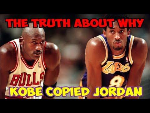The REAL Reason Why Kobe Bryant 'Copied' Michael Jordan