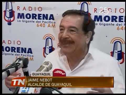 Nebot rechaza críticas de Jairala sobre actual gestión municipal