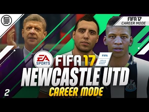 FIFA 17 NEWCASTLE UTD CAREER MODE! S2. EP.2 - NO WAY!!!