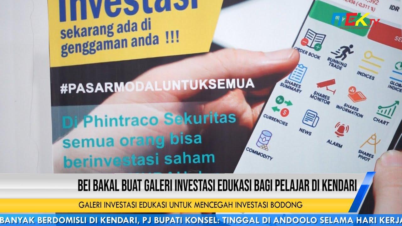 Galeri Investasi Edukasi Untuk Mencegah Investasi Bodong