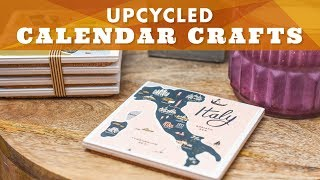 5 Ways to Upcycle Your Old Calendar - HGTV Handmade