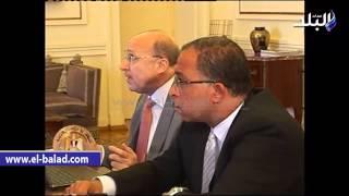 بالفيديو والصور.. محلب يناقش إنشاء المجلس الأعلى للصحة والدواء