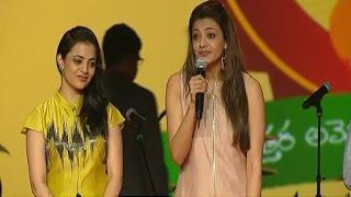 South Indian Actress Kajal Agarwal Fun at NATS 4th Celebrations   Vanitha TV