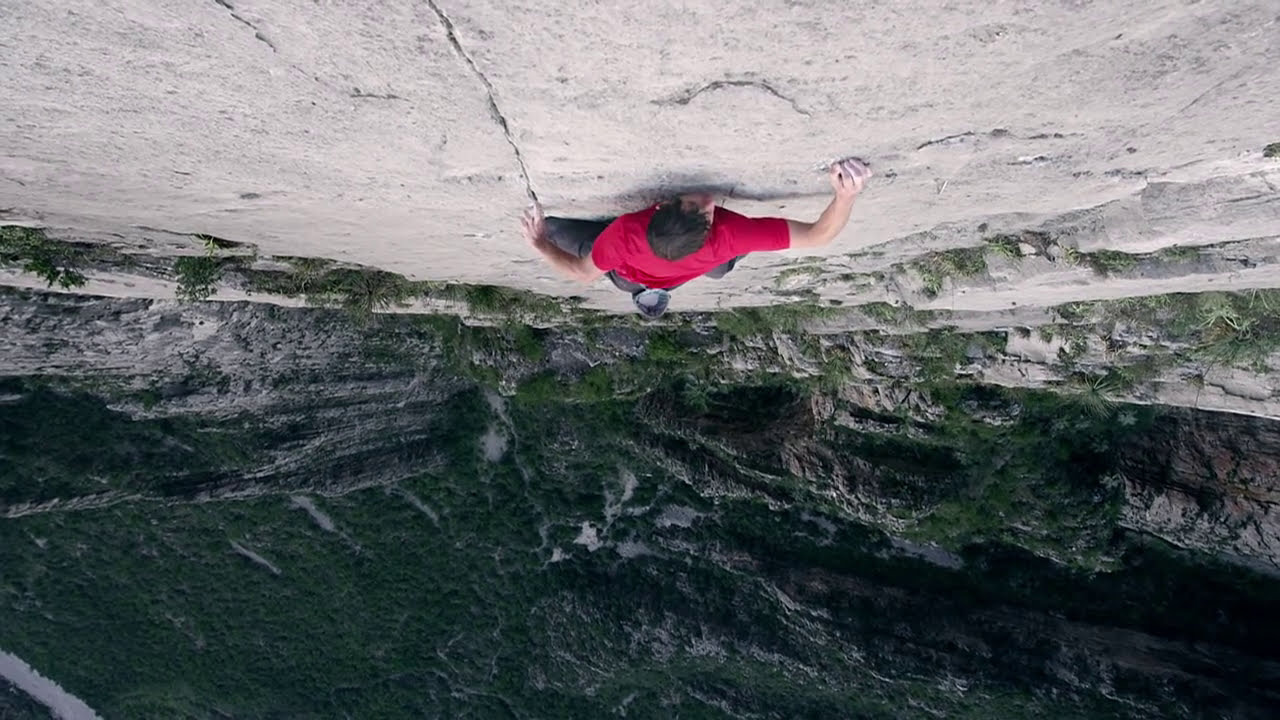 Alex honnold big wall solo teaser youtube for Big wallpaper for wall