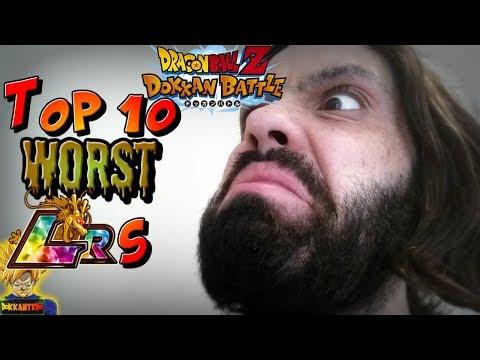 TOP 10 WORST LRs! | Dragon Ball Z Dokkan Battle