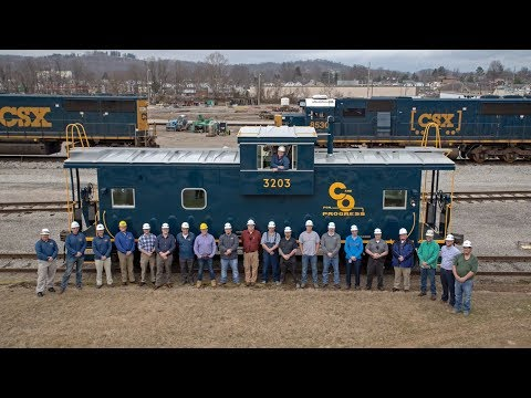 CSX Donates C&O Railway Caboose To Kentucky Steam