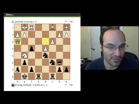 IM Greg Shahade plays a VERY heated match on chess.com