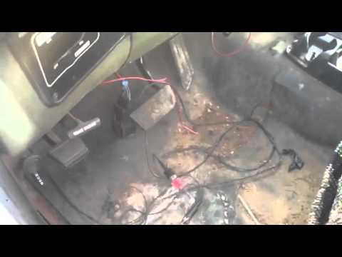 CUCV manual glow plug button how to M1009 M1008 M1028 M1010  YouTube