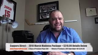 Free March Madness NCAA College Basketball & NBA Sports Picks 3-20-2019