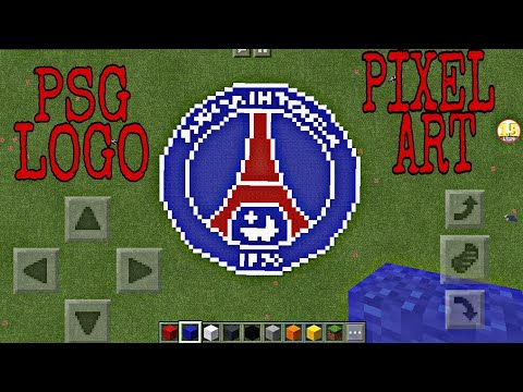 Pixel Art Paris Saint Germain Mgp Animation