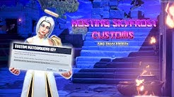 🔥CUSTOM GAMES WIN=PROMO ROAD TO 5K SUBS SAC :SKYY-FROSTY #GloriousUP 🔥🔥