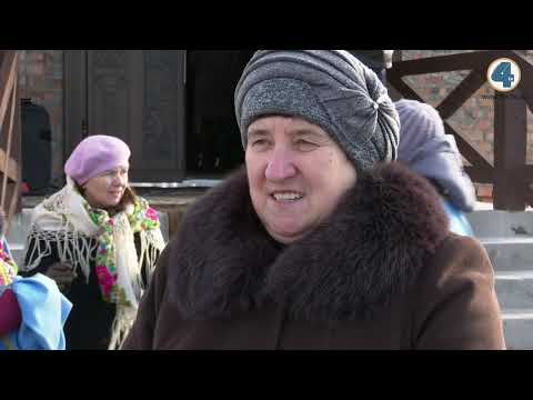 TV-4: Новозбудовану церкву освятили у Великих Бірках.  - Погляд з близька
