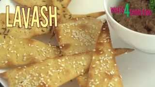 How To Make Lavash. Crispy Middle Eastern Flat-bread. Homemade Lavash Recipe.