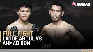 Partai Keras! 😱 Laode Abdul Haris vs Ahmad Roni || One Pride MMA FN 37