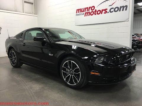 2014 Ford Mustang GT Manual SOLD NAVIGATION Premium Leather Munro Motors