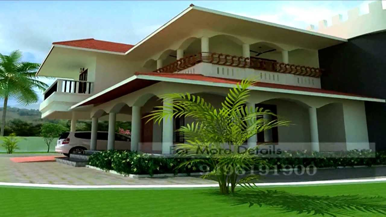 Mahesh low cost house design youtube for Low cost home designs