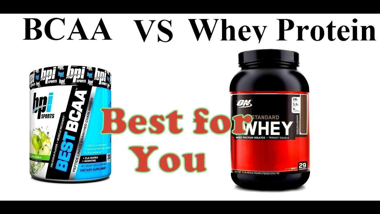 proteinpulver eller bcaa