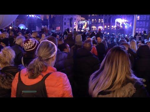 Turn on the Lights  Bijenkorf @ The Dam Square Amsterdam