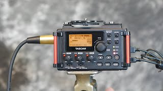 Tascam DR60 Mk2 Quick Review With An External Power Supply