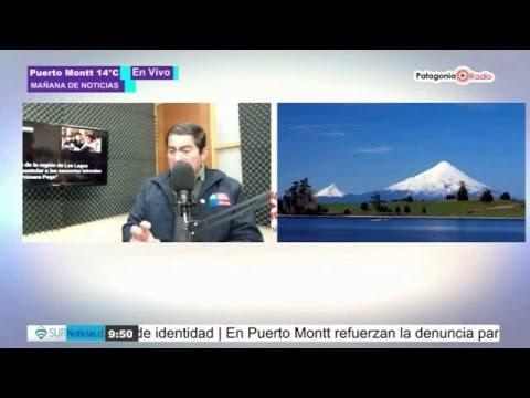 Director Regional de ONEMI analiza actual situación del Volcán Osorno