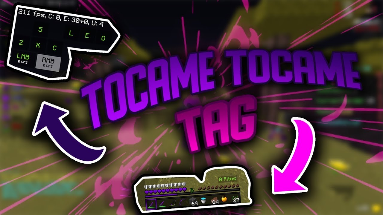 I´M BACK |  TOCAME TOCAME TAG  | IDARKPLAYS #1