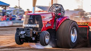 SUPER STOCK DIESELS TRACTORS pulling at Benson 2017