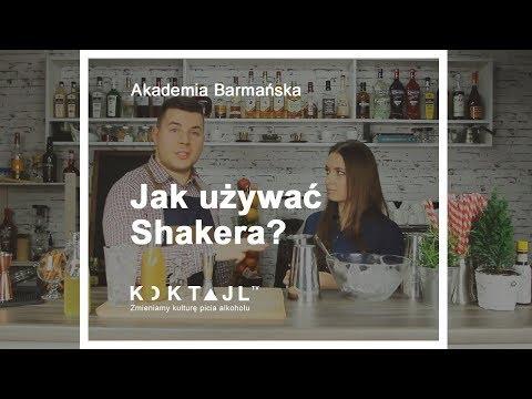 Jak używać shakera, technika shakerowania - Akademia Barmańska Odc.4    www.koktajl.tv thumbnail