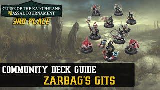 Zarbag's Gits Deck Guide | 3rd Place Vassal Tournament | Warhammer Underworlds: Beastgrave