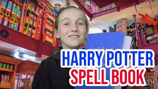 Harry Potter DIY   How to Make a Harry Potter Spell Book