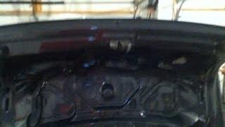 VW Passat B5.5 Trunk Actuator Repair