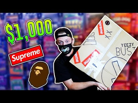Unboxing a $1000 Hypebeast Mystery Box!!