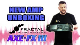Axe-FX 3 -  Unboxing (My new amp is by Fractal Audio Systems)