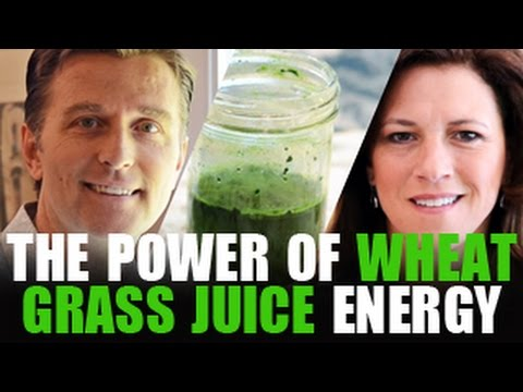 Forget the Coffee! Do Wheat Grass Juice for ENERGY!