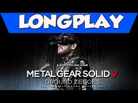 LongPlay - Metal Gear Solid V Ground Zeroes