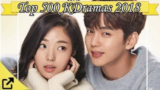 Video Top 500 Korean Dramas 2018 download MP3, 3GP, MP4, WEBM, AVI, FLV Oktober 2018