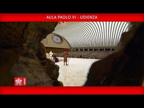 Papa Francesco - Udienza Generale 2020-01-22