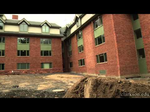 The New Moore House at Clarkson University
