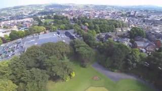 drone view West park macclesfield