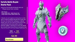 How To Get ROGUE SPIDER KNIGHT BUNDLE (RELEASE DATE) Fortnite NEW Starter Pack 9 CHALLENGES REWARDS