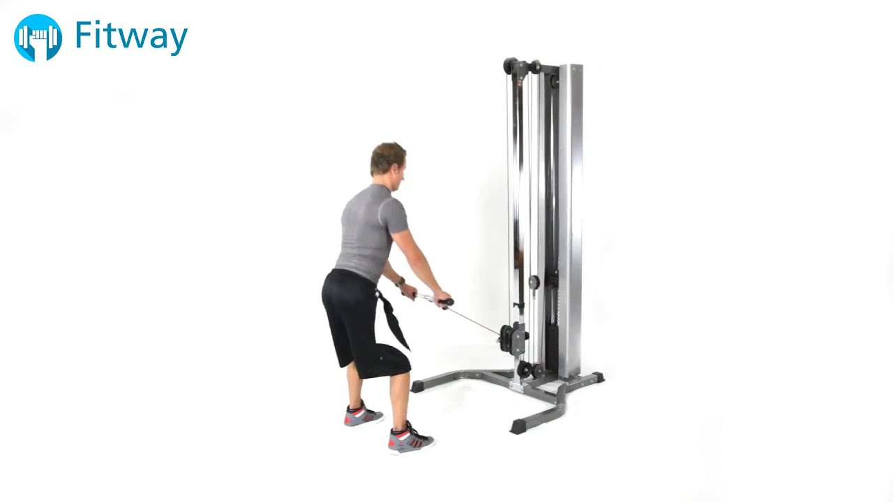 workout cable machine