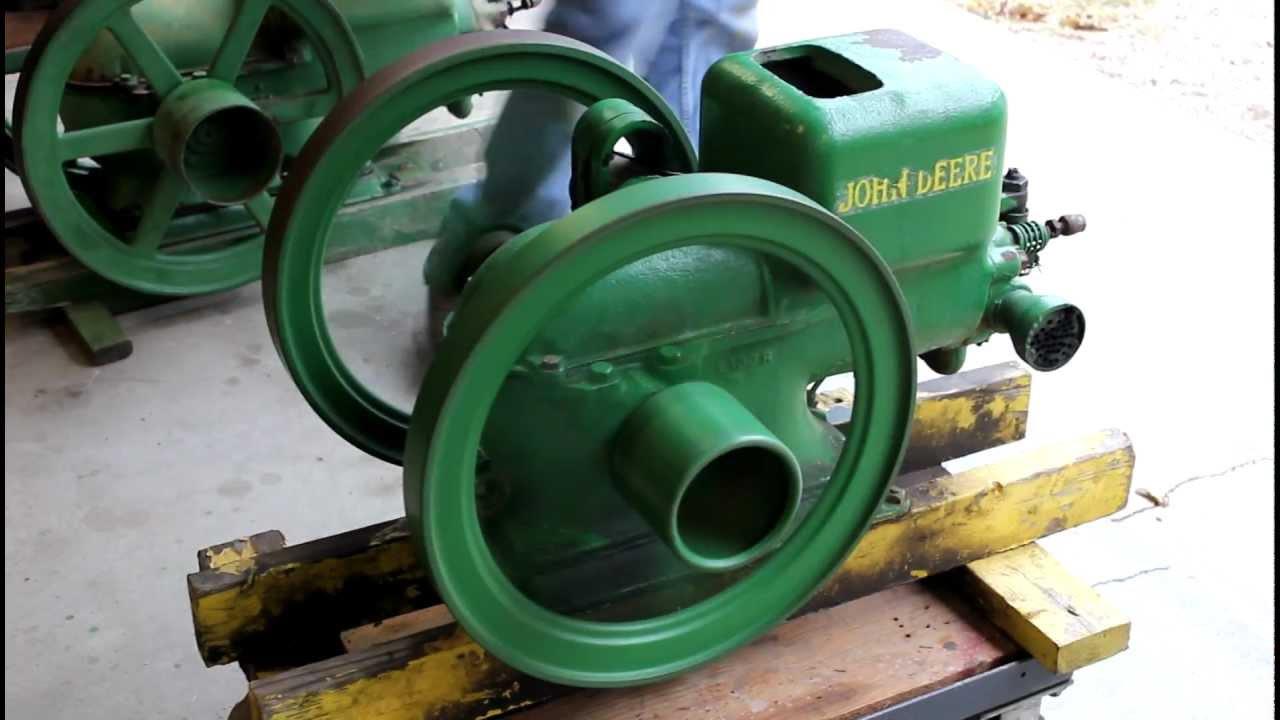 1929 john deere 1 1 2 hp stationary engine for sale 1 250 for Stationary motors for sale