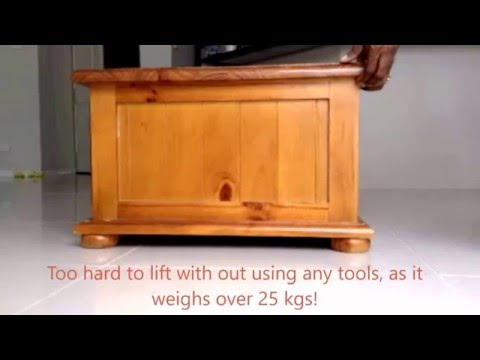 Lift heavy  objects with  a single  finger! (Lever mechanism)