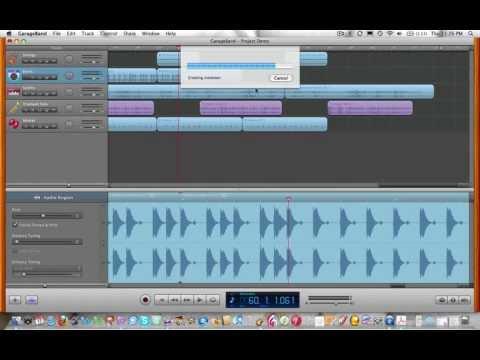 Export from GarageBand to iTunes