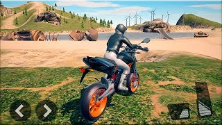 Ultimate Motorcycle Simulator - Gameplay Android game - motorcycle simulator game of 2018