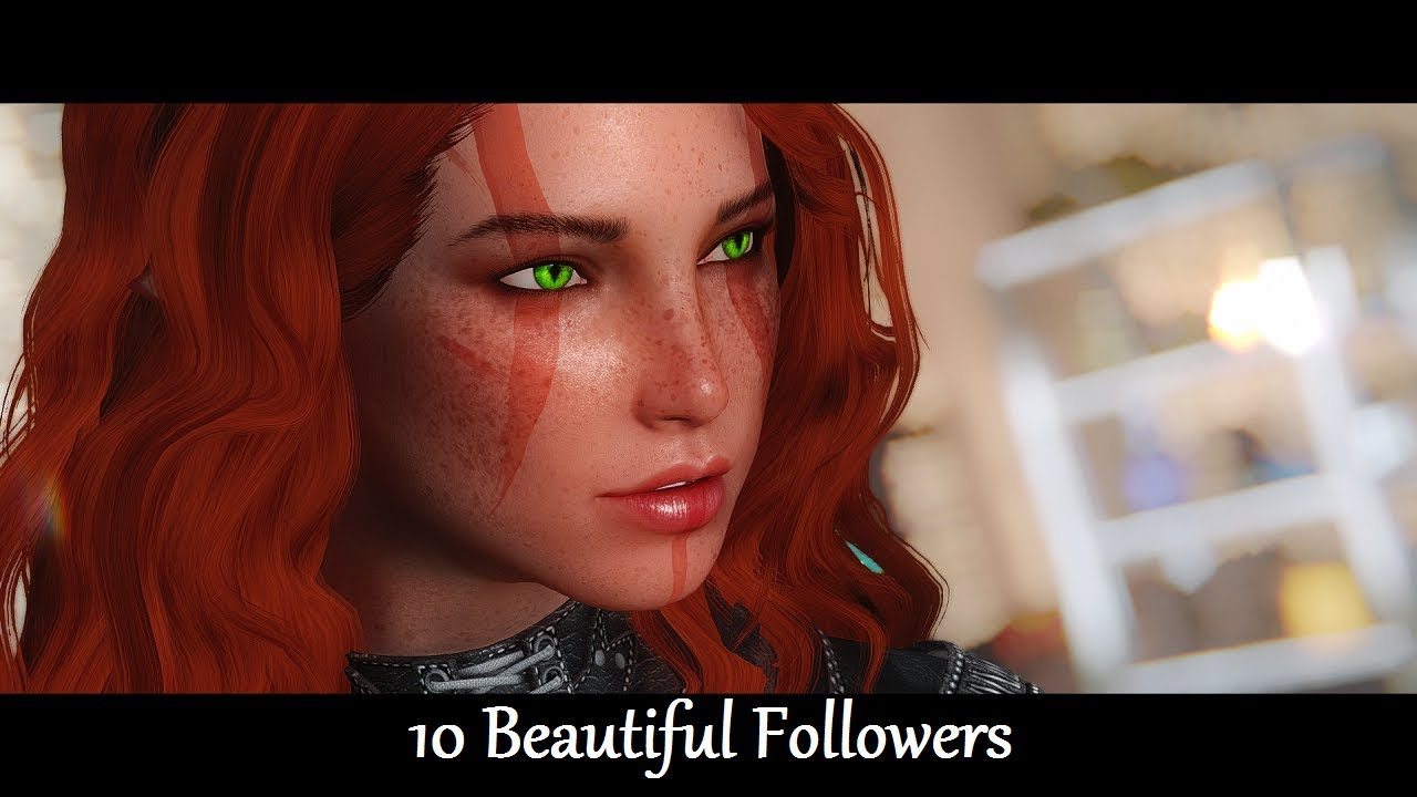 Skyrim Mods: 10 Beautiful Followers - Armor part 2 : LightTube