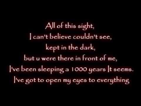 Evanescence - Wake me up Inside [Lyrics]