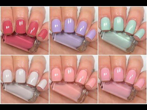essie bridal collection 2016 swatch and review